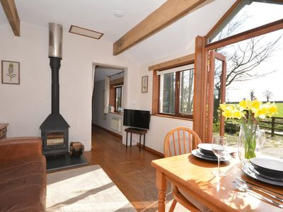 Photo for 1 bedroom Log Cabin in Bigbury-on-Sea - 43632