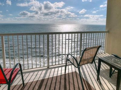Photo for Majestic Beach Towers Studio/1BA Sleeps 4 Free Wifi Free Fun Included with Rental Gulf Front