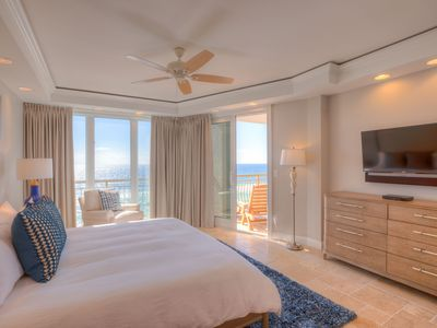 Photo for HighPointe 32W - New Remodel, Luxurious High Pointe Gulf Front, 1 Beach Setup