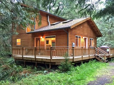 Photo for Mt Baker Rim Cabin #64 - It`s time to get away to this, Newer 2 bedroom cabin!