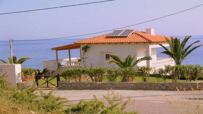 Photo for Private rental Musuri seafront with its own private access to the sea