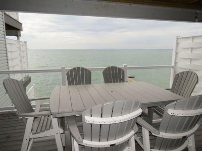 Photo for Incredible New Put-in-Bay Condo - 2 Floors, 4 BR on the Water - 12 ppl max