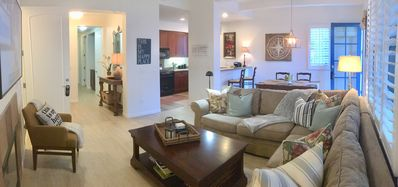 Photo for Romantic 1 Bed/1 Bath, w/Fireplace, Kit, Living/Dinning Room, Private Patio