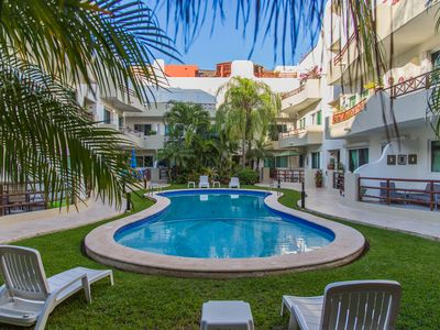 Photo for Spacious penthouse in the very heart of Playa del Carmen