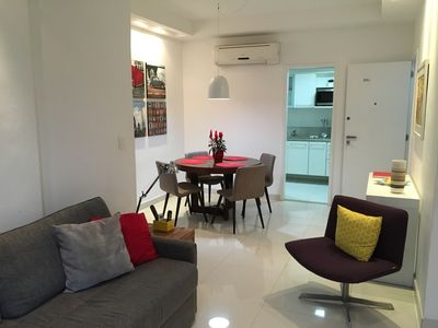 Photo for Beautiful and Modernissimo two bedrooms Ipanema