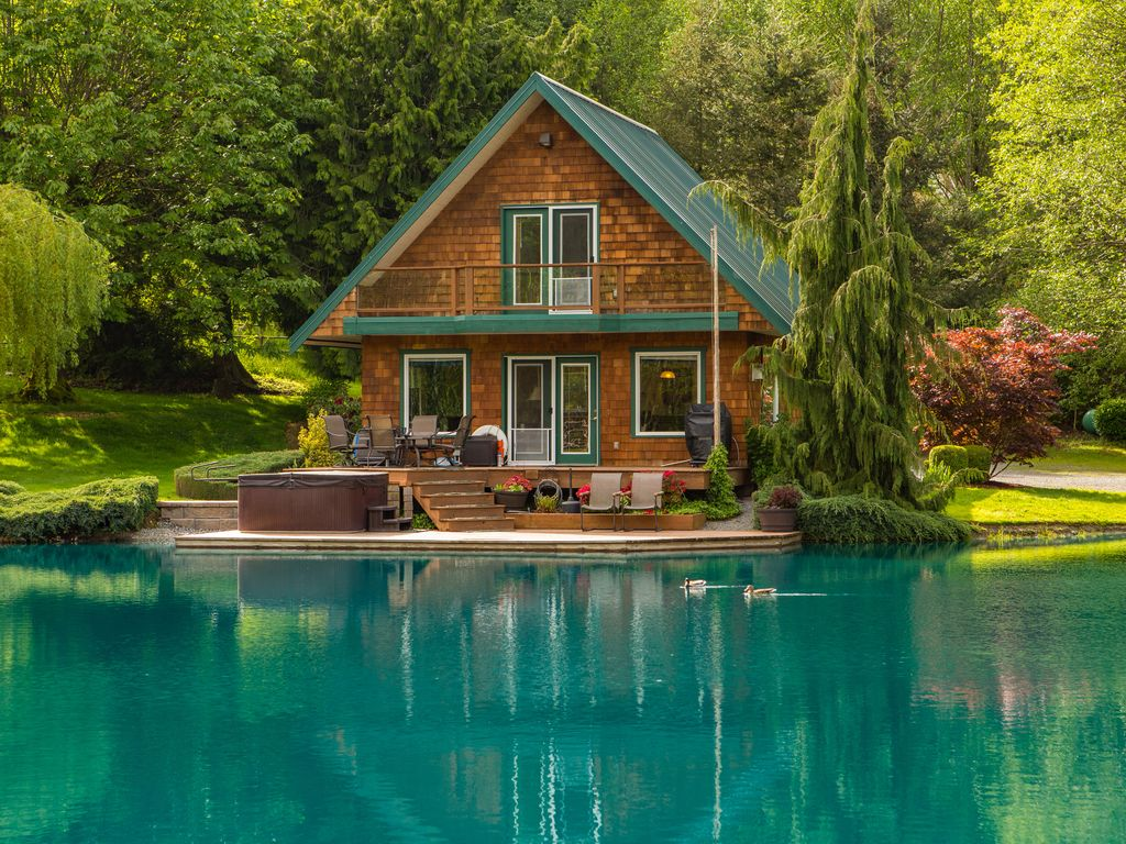 Come relax and bring your fishing pole homeaway for Washington state cabins for rent