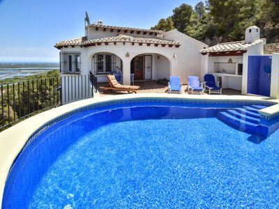 Photo for Molinell Holiday Home, Sleeps 6 with Pool, Air Con and Free WiFi