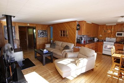 Opposite View Of Living Room (Woodstove not for renters use)