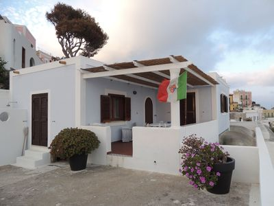 Photo for Ponza port, prestigious house, large terrace and amazing sea view