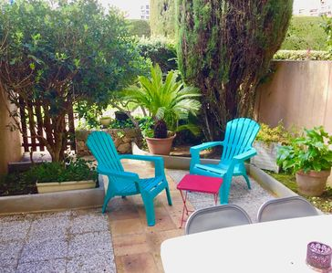 Photo for Large 2 bedroom apartment with garden and terrace