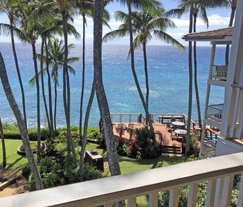 Photo for STUNNING OCEANFRONT PENTHOUSE 2Bd/2Ba *Fully Renovated, Pool * Poipu Palms Koloa