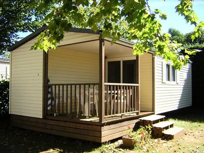 Photo for Camping Le Pigeonnier *** - Mobile home Hirondelle 3 rooms 4/6 people