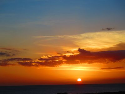 Amazing Sunsets Every evening seen from our Balcony, Living & Master Bedroom!