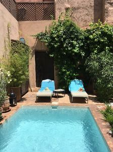 Photo for RIAD Private 4 bedrooms in MEDINA WITH GARDEN AND SWIMMING POOL (staff included)