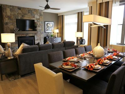 Photo for 2BD Luxury Villa - Walk to the Slopes