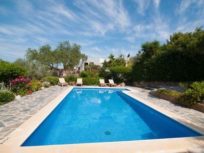 Photo for Beautiful finca with pool, situated in the countryside around Benimussa