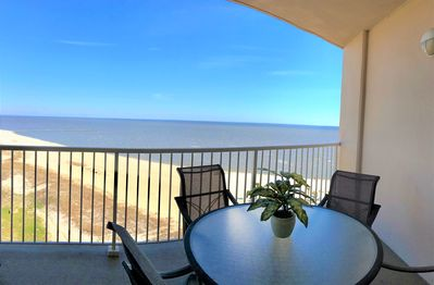Our private balcony - fantastic views!