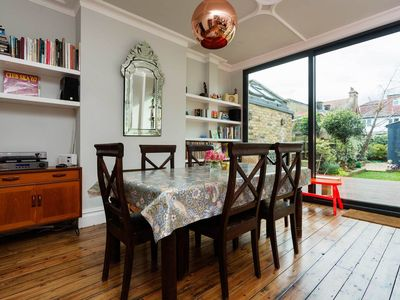 Photo for Family house in a quiet neighbourhood, reach Oxford Street in 30 mins (Veeve)