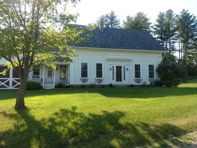 Photo for 1855 Farmhouse l Fully Restored with 5 Bedrooms - Family and Pet Friendly