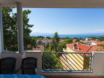 Photo for Apartment Kristina for two to four people in Malinska with Pool