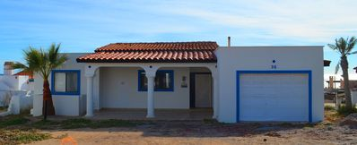 Photo for Beautiful very cozy 3bdr house at las conchas, walking distance from beach