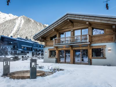 Photo for Chalet Seren is a elegant luxurious property in the heart of Chamonix