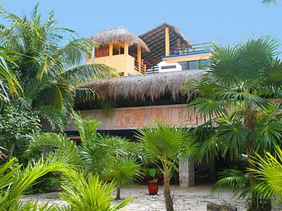 Casa del Sol - An Akumal Classic! This is a large villa perfect for gathering friends and family!