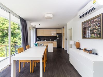 Photo for Zen Space 524 - Mountain view apartment for 4 with pool, children playground and gym