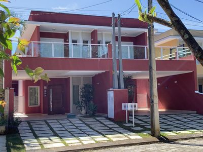 Photo for Beautiful house, in the condominium Address Beach, Pool, Air Conditioning, Wi-Fi.