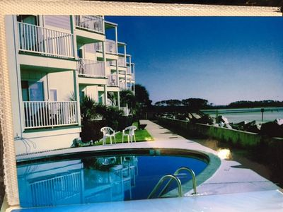 """Photo for """"Paradise at the Pointe"""" Cherry Grove,SC Oceanfront, 1st floor, end unit"""
