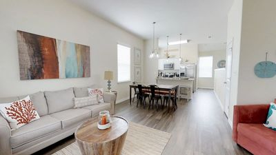 Photo for Beautiful 2 BR / 3 Bath - Walking Distance to the Beach!