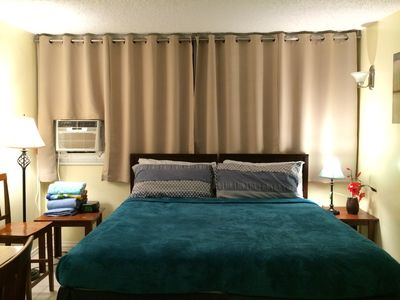 Photo for Spacious 7th Floor Queen Suite w/ Kitchenette