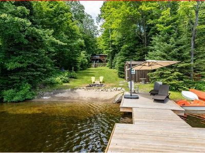 Photo for Muskoka Lake-front 4-Season Cottage on Bay Lake