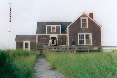 Beach House With Water Views Out Of Every Window Nantucket Island