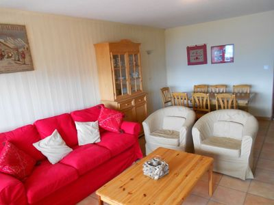 Photo for Large 3*, 3-bedroom-apartment for 8-10 people.Living room with sofa bed for 2 persons, TV and dining