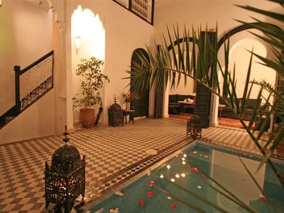 Photo for CHARMING TRADITIONAL RIAD IDEALLY LOCATED IN THE MEDINA OF MARRAKESH