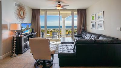Photo for Tower 4 - Unit 605 - 2BR Elite Rated Skyhome with Fantastic Gulf View