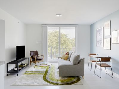 Photo for Sonder | Grove 27 | Tranquil 1BR + Private Balcony