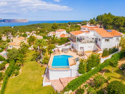 Photo for Villa Esbarzar with stunning sea views - 6 bedrooms, 4 bathrooms, airconditioned