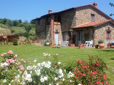 Photo for Country House / Farm House in Piegaro with 5 bedrooms sleeps 12