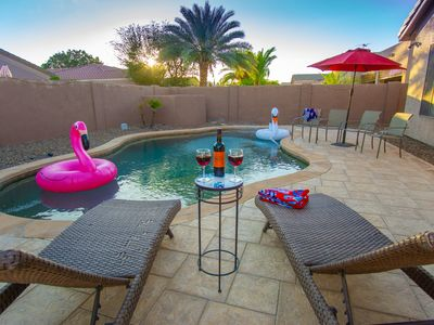 Photo for Resort Style, Spacious Home in Desirable South Chandler Ocotillo w/ Heated Pool!