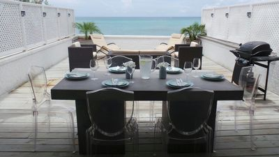 Photo for Beautiful oceanfront 3 bed townhouse
