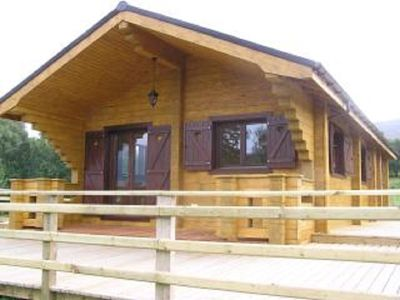 Photo for Cosy Log Cabin In the Highlands, Chalet Blaich