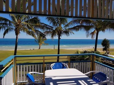 Photo for Tangalooma Beachfront Villa 44 with Air Conditioning