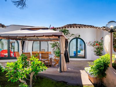 Photo for Villa near the Beach with Seaview, Wi-Fi, Terrace and Garden