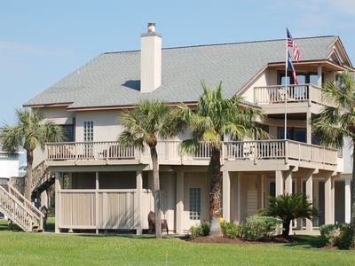 Photo for Spacious, beautiful beach house with extensive living space, amenities and view