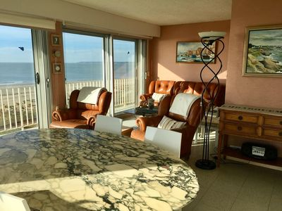 Photo for Large apartment with panoramic views of the ocean