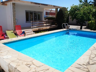 Photo for Holiday home with private pool.