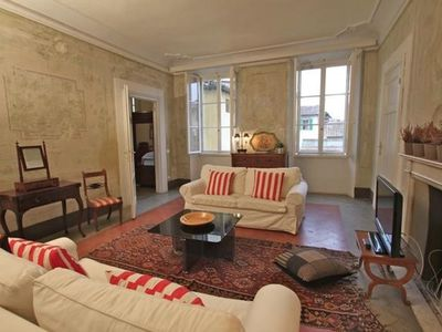 Photo for Wonderful view on Florence, full of light ,frescoes on the walls , high ceilings