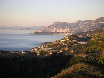 Photo for Fantastic sea view of Monte Carlo and the French Riviera